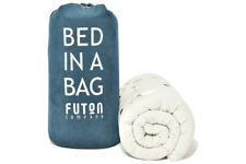 "English Folding Futon Mattress ""Bed in a Bag"""