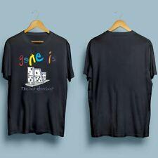 HOT!!! GENESIS The Last Domino T-shirt UK Album TOUR 2021 Music Concert T Shirt