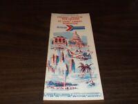 NOVEMBER 1974 AMTRAK CHICAGO HOUSTON NEW ORLEANS PUBLIC TIMETABLE