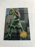 Robert Parish Signed 93/94 Fleer Tower Of Power Card # 22