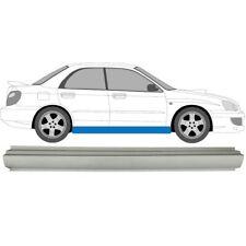Subaru Impreza GD/GG 2000-2007 Schweller Reparaturblech / Rechts