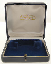ORIGINALE ROLEX BOX/Astuccio per Datejust & Day-Date 40/50er ECOPELLE J.