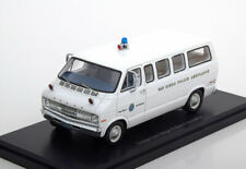 1:43 Neo Dodge Sportsman San Diego Police Ambulance white