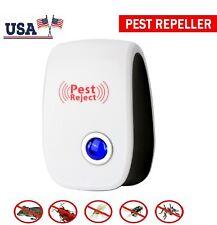 Pest Reject Ultrasonic Repeller Home Bed Bug Mites Spider Defender Roaches