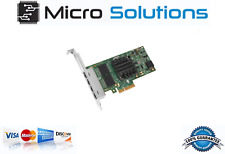 Intel I350T4BLK I350-T4 PCI-Express RJ45 4 Ports Gigabit Server Adapter 1Gbps