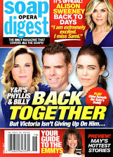 Soap Opera Digest Magazine May 1 2017 Young & the Restless Charles Shaughnessy