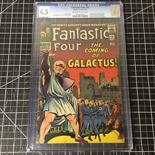 Fantastic Four #48 (1966) CGC 4.5 VG+ 1st Silver Surfer and Galactus Cameo