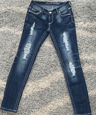 Almost Famous Jeans With Holes Size 7