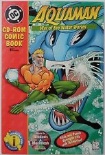 Aquaman: War of the Water Worlds (1996 Inverse Ink) Cd-Rom Comic Book, Nm