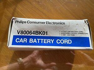 Philips V80064BK01 Car Battery Cord Unused in original box