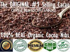 Raw Cacao / Cocoa Nibs 100% Raw Chocolate Bean Arriba Nacional 1 oz to 33 lb