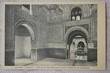 """CPA """" GRANADA - Alhambra, Sala de las Dos Hermanas desde el  Mirador de Lin..."""