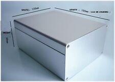 1pc  New Good 120*150*69mm electronic Instrument Metal box / Aluminum BOX