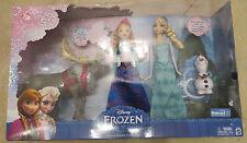 NIB Disney Frozen Friends Collection Box Gift Set Anna Elsa Olaf Sven