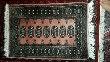 Hand Woven Wool/Cotton, Persian, Multi-Color, 41 inches by 25 inches