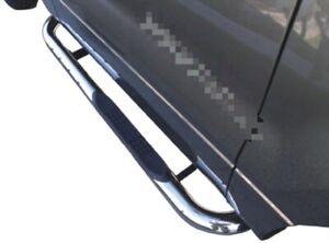 4'' 304 Stainless Steel Side Steps Side Bars For Jeep Wrangler 2 Doors 2007+
