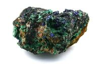 Natural Azurite Malachite Host Rock Specimen Gemstone Gem Stone AMS10