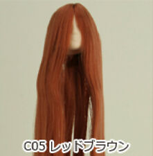 Obitsu Doll 27cm hair implantation head for Whity body (27HD-F01NC05) R BRN