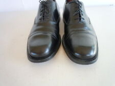 BRUNO MAGLI CHANCE Black Leather Made Italy Goodyear Welted Oxfords Sz 10 M