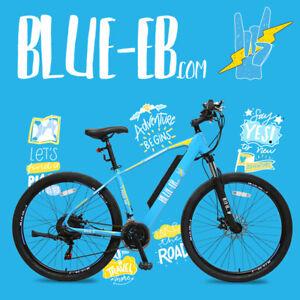 Electric Bike Blue-Eb Brushless 36v/250W Samsung Battery 36v/14Ah Shimano 21s