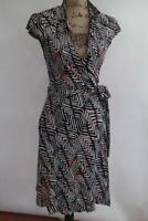 Diane Von Furstenberg GRIFFITH wrap dress size 8 (500