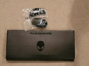 Dell Alienware Multimedia Gaming Keyboard & Mouse Black Wired SK-8165 Brand New