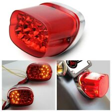 1X Red Lens LED Brake Tail Turn Light For Motor Dyna Electra Glide Ultra Classic