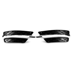 Tagfahrlicht Blende Gitter mit Zierleiste für Benz C-Klasse W204 2013.8-2014 AF