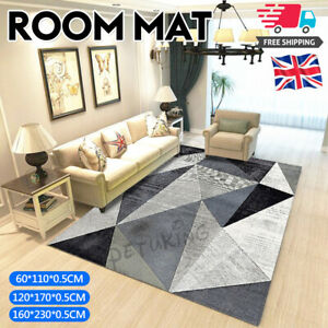 Clearancle Non Slip Large Area Rugs Bedroom Living Room Kitchen Mat Washable Mat
