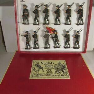 CBG MIGNOT Lead Toy Soldiers WW1 US MARINE CORPS Britains
