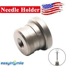 Stainless Steel Needle Holder Organizer Pedestal Dental Syringe Base Easyinsmile