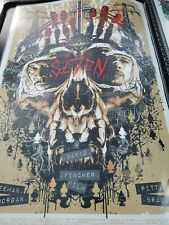 Rhyse Cooper 'Se7en' Limited Run Not Mondo Seven Movie Art Print