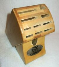 Calphalon Wooden Knife Blocks And Storage For Sale Ebay