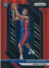 2018-19 PRIZMS RED /299 RC BRUCE BROWN DETROIT PISTONS PRIZM PARALLELS - CL241