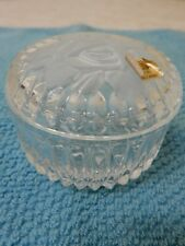 R. GROSS LE CLAIRUPT BACCARAT CRISTALLERIE D'ART CRYSTAL CANDY TRINKET DISH BNWT