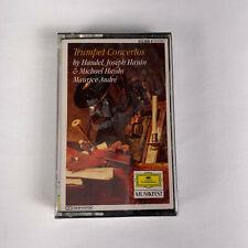 Trumpet Concertos by Handel Joseph & Michael Haydn Cassette