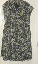 PLUS SIZE PRETTY REFINED FULLY LINED SILK BLEND DRESS BY KATE HILL: SIZE 22W