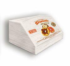 Portapane con decoro in Donuts in legno shabby 30x40x20 cm