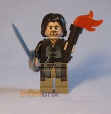 Lego Aragorn Minifigure from Sets 79008, 9472, 9474 Lord of the Rings NEW lor017
