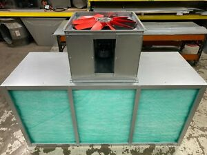 Spray booth Extract - Spray booth - Extract Fans - Filter Chests/Boxes