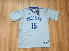 Brooklyn Nets Isiah Whitehead #15 NBA Adidas Swingman Sz Large Basketball Jersey