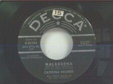 "CATERINA VALENTE ""MALAGUENA / MAMBO FROM CHILE"" 45"