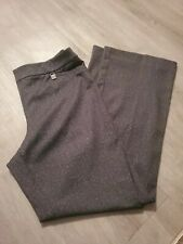 New York & Company 7th Avenue Gray Pull-On Bootcut Pants Size L Average
