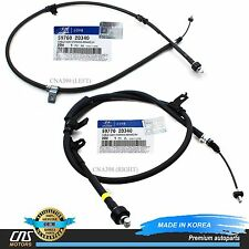 GENUINE Parking Brake Cable Set Rear Fits 04 Elantra 59760-2D340 59770-2D340