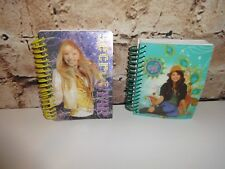 "Hannah Montana Pop Star Selena Gomez Waverly Place ""2"" Lot of Small Note Books"