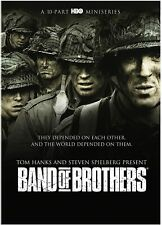 Band Of Brothers DVD 10-Parts 6-Disc Set Brand NEW Steven Spielberg HBO Series