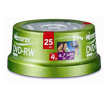 Memorex DVD-RW 4.7GB 4x 25-Pack Spindle