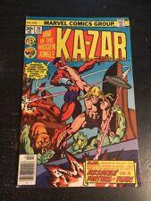 Ka-Zar#20 Awesome Condition 6.5(1977) Klaw App,Mayerick/Chan Art!!