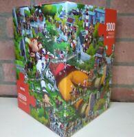 HEYE Oesterle - Gulliver 1000 Piece Complete Triangular Box Jigsaw Puzzle - Used