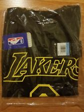 Nike Dry-Fit Kobe Bryant Retirement Tee T-Shirt #8 #24 Black sz M Brand New
